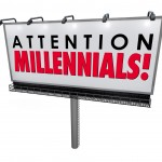Attention Millennials Billboard Sign Attract Generation Y Custom